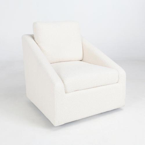 Classic Home - Monticello Swivel Accent Chair