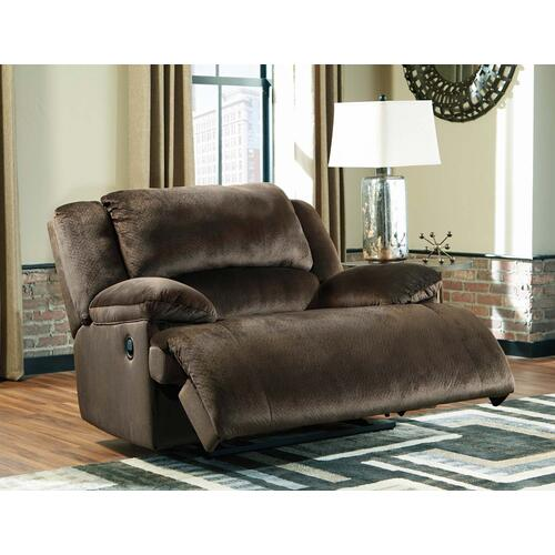 Clonmel Chocolate Zero Wall Wide Seat Recliner
