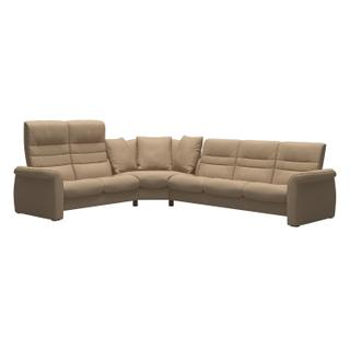 See Details - Stressless® Sapphire with Medium Corner 23/32 High back/Low back