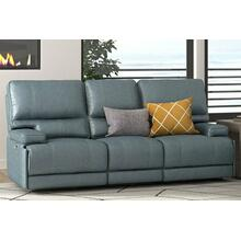 WHITMAN - VERONA AZURE - Powered By FreeMotion Power Cordless Sofa
