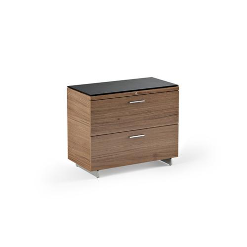 Lateral File Cabinet 6016 in Natural Walnut