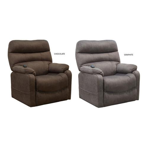 4864 LIFT RECLINER in 2792/29 (CHOCOLATE)