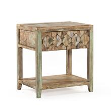 "Ibiza 24"" Reclaimed Wood Night Stand"