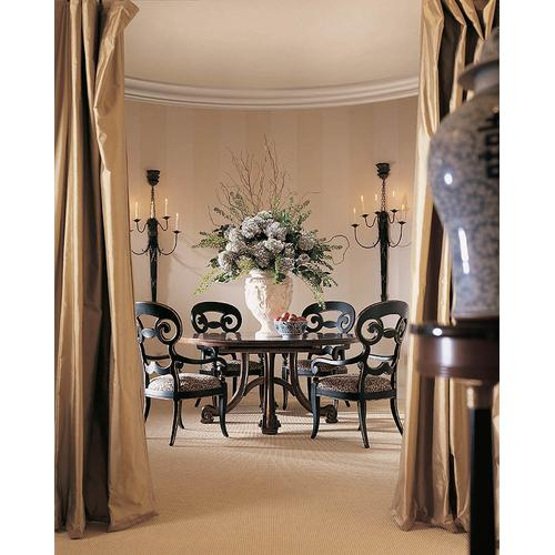 Consulate Hortense Round Dining Table