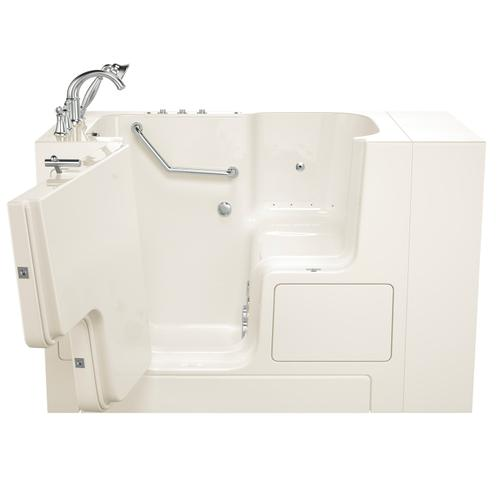 Value Series 32x52-inch Combo Massage Walk-in Tub  American Standard - Linen