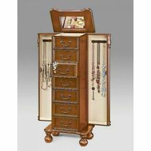 ACME Lopez Jewelry Armoire - 97006 - Oak