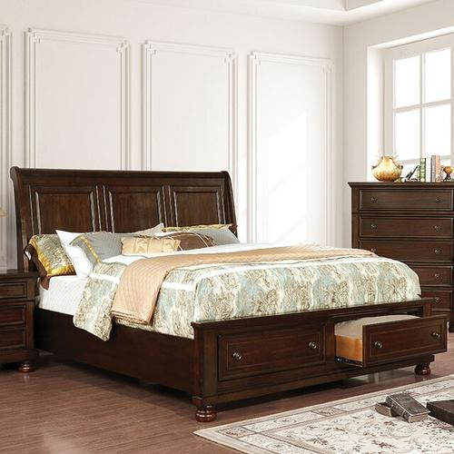 Furniture of America - Queen-Size Castor Bed