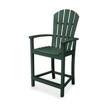 Green Palm Coast Counter Chair