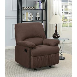 See Details - Casual Chocolate Glider Recliner