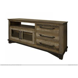 "3 Drawers, 2 Doors, 62"" TV Stand"