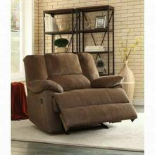 ACME Oliver Oversized Glider Recliner - 59415 - Chocolate Corduroy