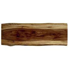 """See Details - Live Edge 84"""" Dining Table Top"""