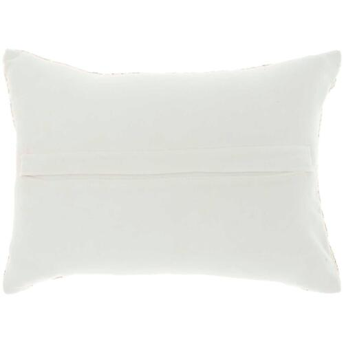 "Luminescence Z5000 Silver 10"" X 14"" Throw Pillow"