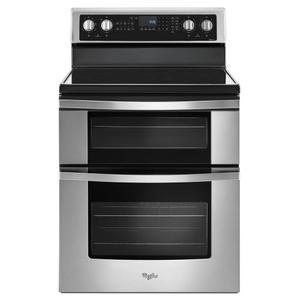 6.7 Cu. Ft. Electric Double Oven Range with True Convection -