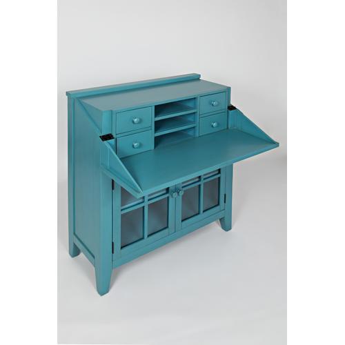 Avery Accent Desk- Seashore Blue