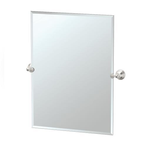 Charlotte Rectangle Mirror in Chrome