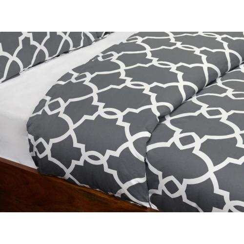 Metro Terrace Chr King Duvet 108x94