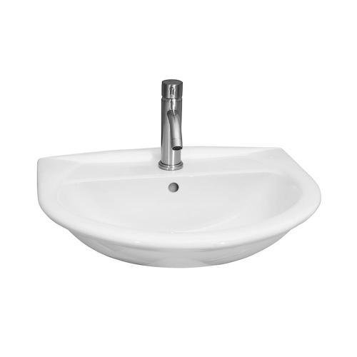 Karla 550 Wall-Hung Basin - Single-Hole