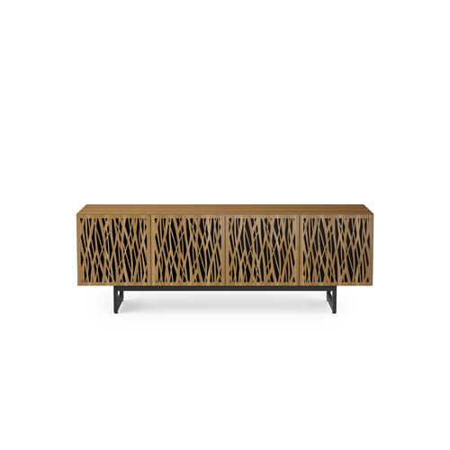 BDI Furniture - Elements 8779 Media Media Cabinet in Wheat Doors Natural Walnut