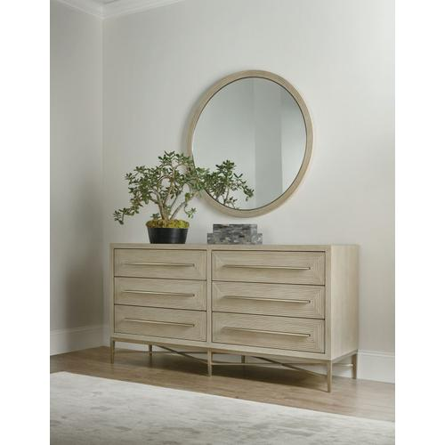Bedroom Cascade Six-Drawer Dresser