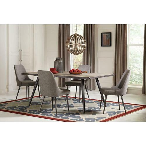 Levitt Mid-century Modern Dining Table