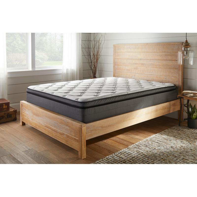 "View Product - American Bedding 15"" Plush Euro Top Mattress, Queen"