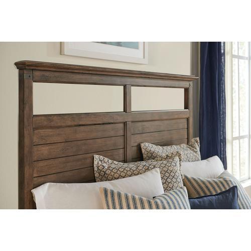 John Thomas Furniture - King Bed in Brindle