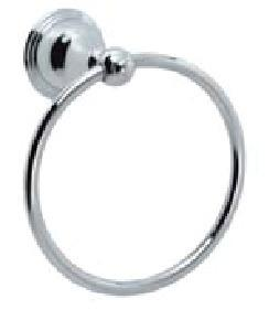 Towel Ring in Satin Nickel