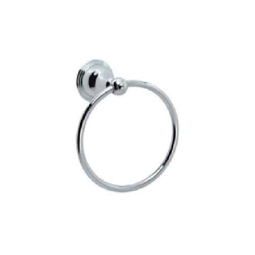 Towel Ring in Satin Nickel