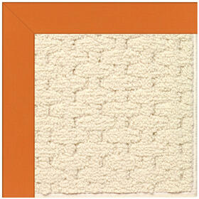 Creative Concepts-Sugar Mtn. Canvas Tangerine Machine Tufted Rugs