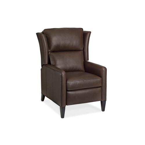 Hancock and Moore - 1180-PRB-PT SAMSON RECLINER W/BATTERY W/PLEATED TRACK ARM