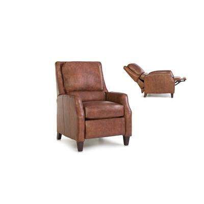 See Details - Leather Pressback Reclining Chair