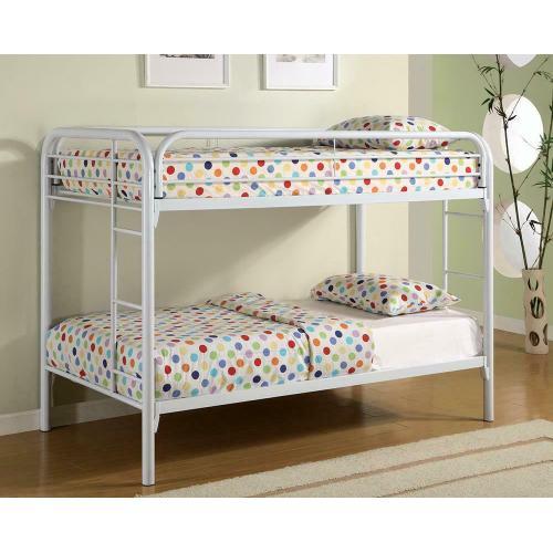 Morgan Twin over Twin Metal Bunk Bed