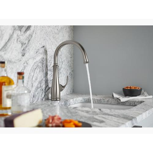 Vibrant Stainless Bar Sink Faucet