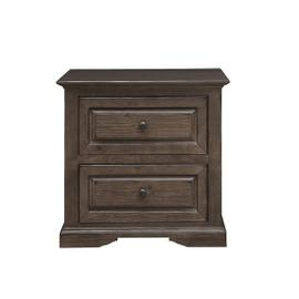 Nightstand - Auburn Cherry Finish