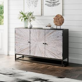 See Details - Astral Plains Reclaimed 3 Door Accent Cabinet