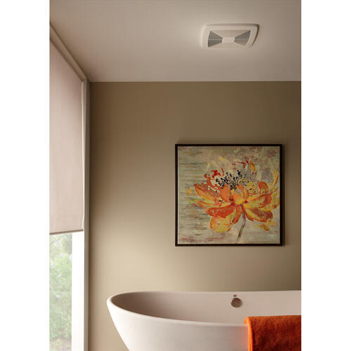 Broan® SmartSense® 80 CFM Ventilation Fan with Control, 0.3 Sones; ENERGY STAR® Certified