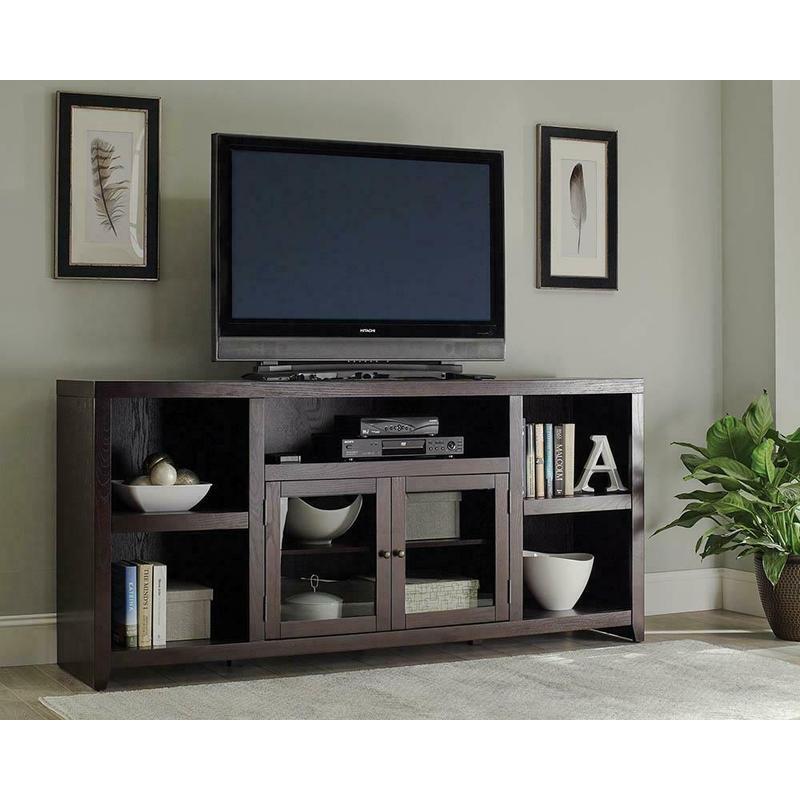 View Product - Breckinridge Transitional Dark Cappuccino TV Console