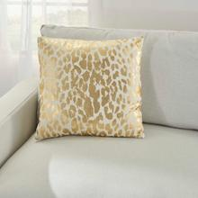 "Kathy Ireland Pillow A3245 Gold 18"" X 18"" Throw Pillow"