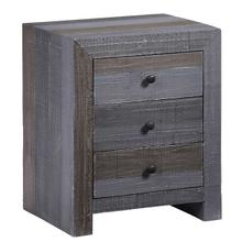 See Details - Nightstand - Forest Gray Finish