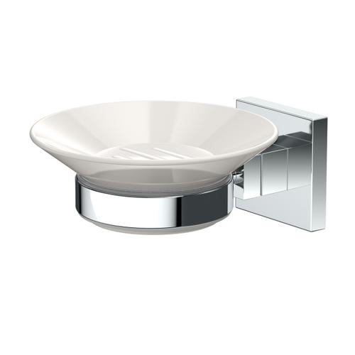 Elevate Soap Dish Holder in Chrome