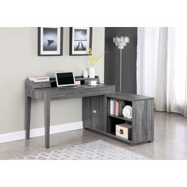 L-shape Desk W/ Outlet