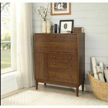 ACME Mullener Office Armoire - 92315 - Walnut