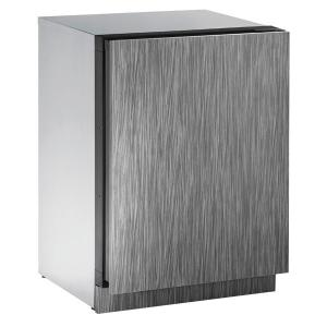 """U-Line2224r 24"""" Refrigerator With Integrated Solid Finish and Field Reversible Door Swing (115 V/60 Hz Volts /60 Hz Hz)"""