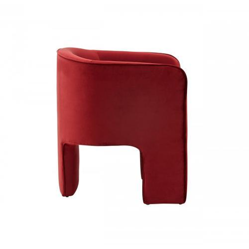 VIG Furniture - Modrest Kyle Modern Burnt Orange Accent Chair