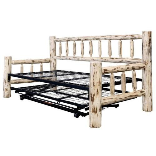 Product Image - Montana Log Day Bed with Trundle