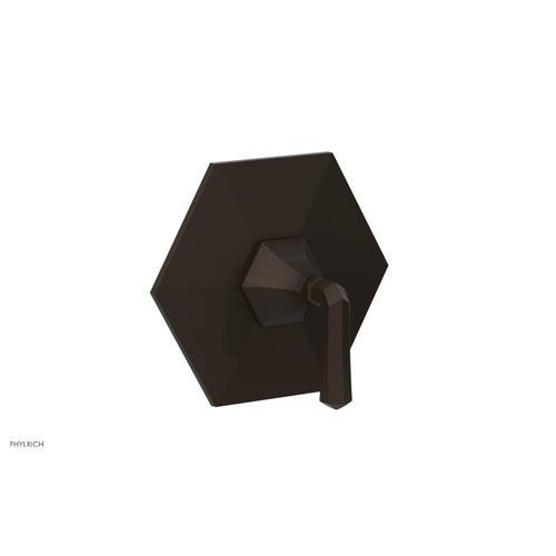 Phylrich - LE VERRE & LA CROSSE Thermostatic Shower Trim - Lever Handle TH170 - Antique Bronze