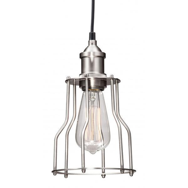 Adamite Ceiling Lamp Nickel