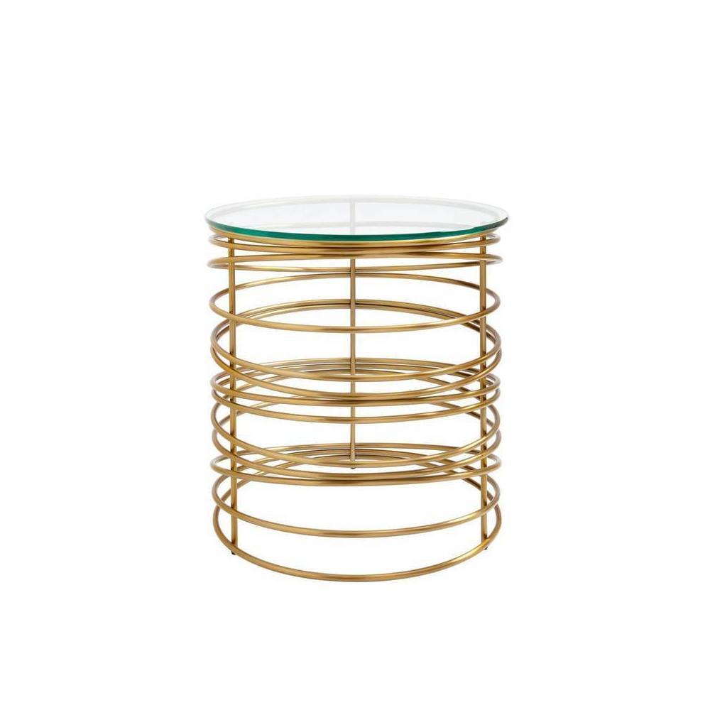 Latitude Round Lamp Table - Binnacle
