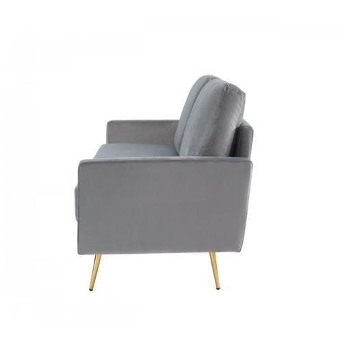 VIG Furniture - Divani Casa Huffine - Modern Grey Fabric Sofa
